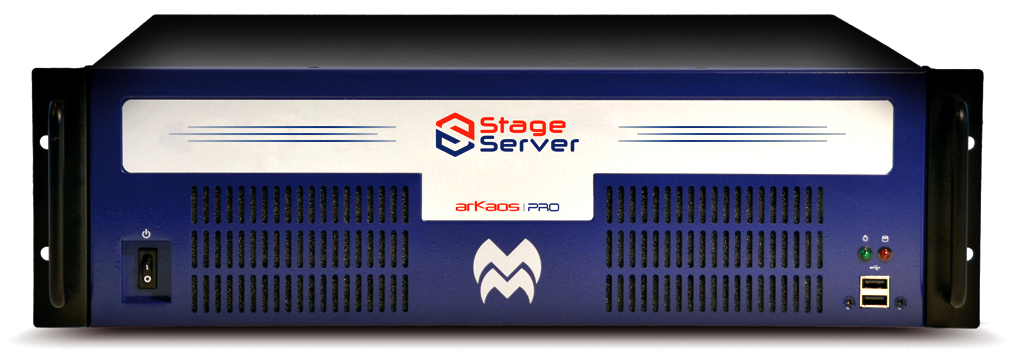 Stage server front